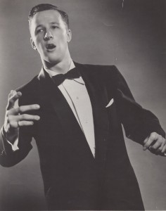 Gene was an accomplished Broadway Singer in the 1950s
