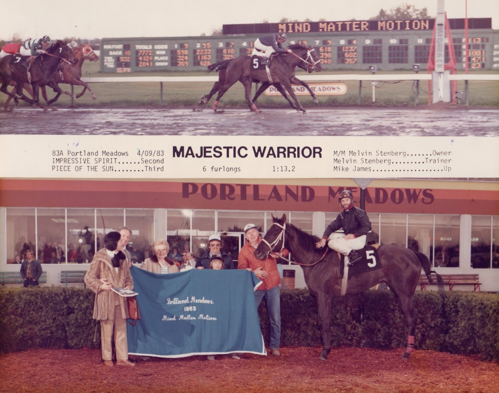 Portland Meadows Winners Circle