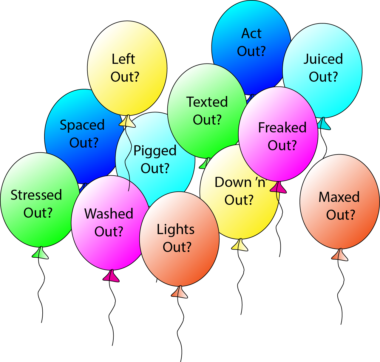 stressed out balloons